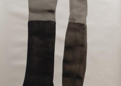 Tinta da China sobre papel, 140 x 100 cm