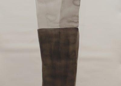 Tinta da China sobre papel, 140 x 100 cm.