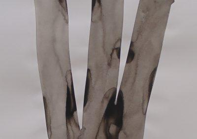 Tinta da China sobre papel, 29 x 42 cm